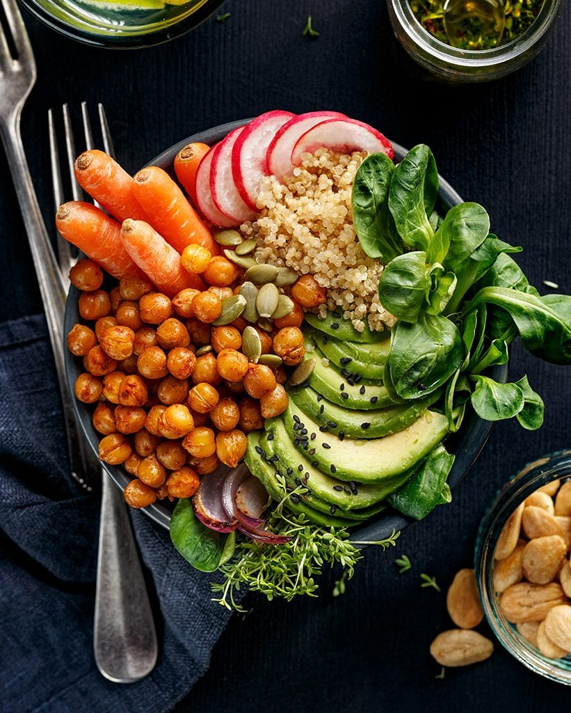 Plant-Based Food on a plate