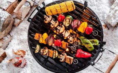 Celebrate Father's Day with a Vegetarian Barbecue